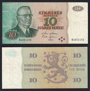 Finlandia 10 markkaa 1980 BB/VF  A-10