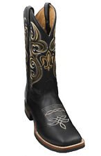 MEN'S RODEO COWBOY BOOTS GENUINE LEATHER WESTERN SQUARE TOE BOTAS-CARR 380