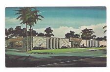 FL Port Charlotte Florida vintage post card Port Charlotte Bank