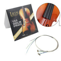 Full Set (E-A-D-G) Violin String Fiddle Strings Steel Core Nickel-silver WoundWY