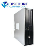 HP Desktop Computer Windows 10 PC Core 2 Duo 4GB 1TB HDD DVD Fast