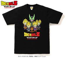 BAPE X DRAGON BALL Z Men's T-Shirt 2XL BABY MILO GOKU VEGETA CELL A BATHING APE