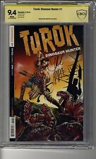 Turok: Dinosaur Hunter (2014) # 1 - CBCS 9.4 WHITE Pages - SS Greg Pak