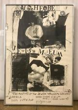 Robert Ranschenberg Jewish Museum Offset Lithograph