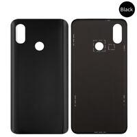 Für Xiaomi Mi 8 - Akkudeckel Batterieabdeckung Rückseite + Klebefolie Black