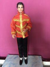 More details for michael jackson doll/action figure. barbie doll size. 80's vintage