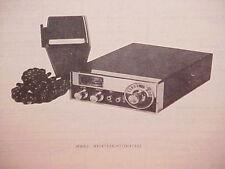 1977 TRUETONE CB RADIO SERVICE SHOP MANUAL MODEL MIC4733A-67 (DC4733)