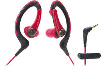 Audio Technica ATH-SPORT1RD SonicSport In-ear Headphones Red