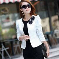 Fashion Women Business Suit Jacket Blazer Ladies Casual Slim OL Coat Outwear US