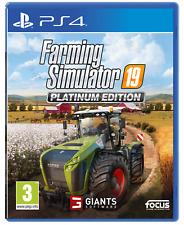 Farming Simulator 19 Platinum Edition PS4 Game
