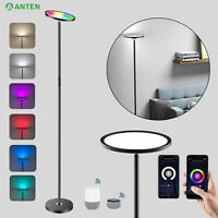 Smart RGB LED Stehlampe Stehleuchte Deckenfluter Dimmbar Touch WIFI APP Control