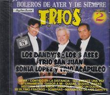 Los Dandys Los Tres Ases Trio San Juan Trios De Ayer Y Siempre CD Nuevo Sealed