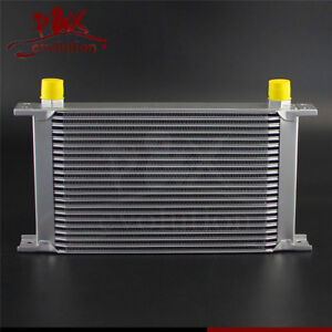 UNIVERSAL 22 ROW AN-10AN ALLOY ENGINE TRANSMISSION ROW22 AN10 OIL COOLER SILVER