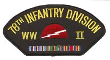 78th Infantry Division World War II 2 Patch Officially Licensed