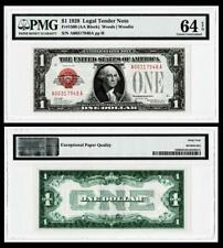 1928 $1 Red Seal Legal Tender Note~Fr.1500~CH UNCIRCULATED ~PMG 64EPQ