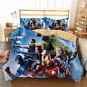 The Avengers Quilt/Doona/Duvet Cover Set Single/Double/Queen/King Bed Pillowcase