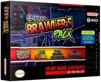 SNES Jaleco Brawler's Pack Video Game Cartridge [4 Games]