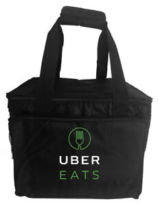 Uber Eats rectangular food delivery bag, food carrier