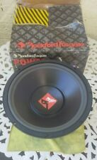 "15"" ROCKFORD FOSGATE PWR-415 PUNCH POWER SERIES SINGLE 4-OHM SUBWOOFER NEW"
