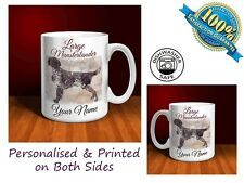 Large Munsterlander Personalised Ceramic Mug: Perfect Gift. (D069)