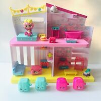 SHOPKINS Happy Places Happy Home House Lot With Bubbleisha Doll - See pictures