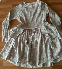 No Added Sugar Pale Pink Doodled Stripes Periphery dress 11-12 immaculate £85