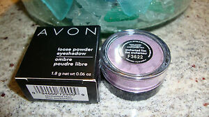 AVON Loose Powder Eyeshadow Lot of (3) ENCHANTED LILAC New in Boxes