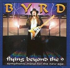 James Byrd - Flying Beyond The 9 (CD, 2001, Lion Music, Finland)