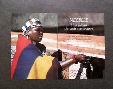 AL89 - Clipping-Ritaglio -1988- NDEBELE , BOTSHABELO