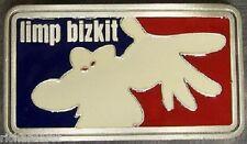 Pewter Belt Buckle music Limp Bizkit NEW