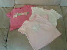Baby Girls 9-12 months - Three T-Shirts - BHS & Florence & Fred