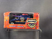 2002 Matchbox Toy Fair Robot Truck