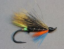 Green Butt Thunder and Lightning Salmon Flies - 6 Fly PACK - Sizes 4, 6 and 8