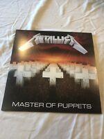 METALLICA Master of Puppets Remastered 180 Gram Vinyl