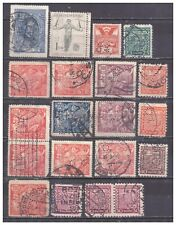 Czechoslovakia Perfins used collection of 20