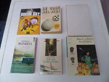 lot 10 livres Green Day Henning Mankell Cécile Aubry Yaël Hassan