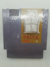 THE LEGEND OF DRINK NES DRINKING WHISKEY FLASK NINTENDO VINTAGE GAME CARTRIDGE