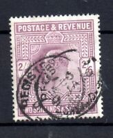 GB KEVII 1905 2s 6d dull purple SG262 fine used WS19822