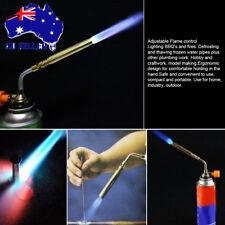 Gas Torch Flamethrower Butane Burner Auto Ignition Welding BBQ Camp Outdoor AU