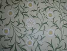 "WILLIAM MORRIS CURTAIN FABRIC ""Scroll"" 4 METRES LODDEN/THYME ARCHIVE PRINTS COLL"