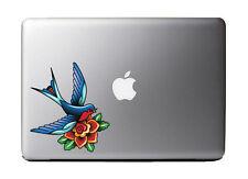 "Love Bird Tattoo Art Full Color - Vinyl Decal for 13"" Macbook …"