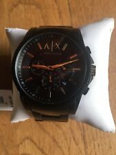 Armani Exchange  AX 2094 Banks Black Dial Black Ion-plated Men's Watch