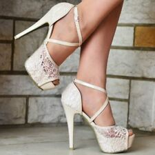 Unbranded Floral Synthetic Stiletto Women's Heels