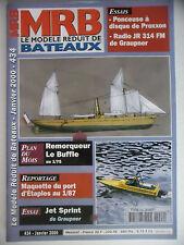 MRB - Modèle Réduit de Bateau #434 (REVUE) Le Buffle,remorqueur - Port d'Etaples