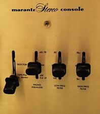 Marantz 7  7C 7T preamplifier selector knobs X4