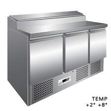 Saladette PS300 . Capacité 8 GN1/6 - MM.1365X700X875h