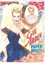 VINTGE UNCUT 1953 EVE ARDEN PAPER DOLL DOUBLE BOOK HD Digital REPRODUCTION~LO~PR