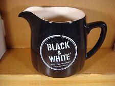 Black & White Scotch Whisky Buchanans Pitcher Vintage Wade Regicor England