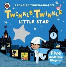 Twinkle, Twinkle, Little Star: Ladybird Touch and Feel Rhymes-ExLibrary