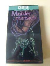 MURDER MANSION - Spanish Horror - Charter Video - New/Sealed VHS